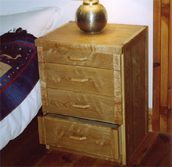 Bedside Drawers in Ash
