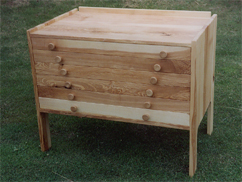 Chest of Drawers in Ash